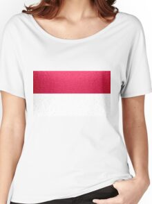 Indonesia Flag Women's Relaxed Fit T-Shirt