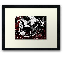 Traction Avant Framed Print