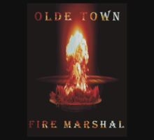 Olde Town Fire Marshal by Kent  Palmer
