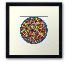 Color Framed Print
