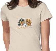 Longhaired Dachshund Lover Womens Fitted T-Shirt