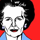 MARGARET THATCHER by OTIS PORRITT