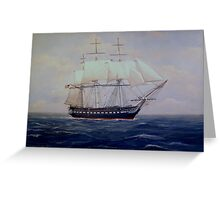 USS Constitution Greeting Card