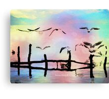 Live The Moment Canvas Print