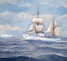U. S. Coast Guard Cutter Northland by William H. RaVell III