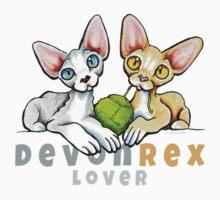 Devon Rex Lover Kids Tee