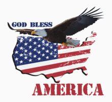 good bless america Baby Tee