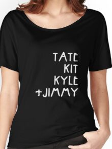 Tate Kit  Kyle Jimmy  Women's Relaxed Fit T-Shirt