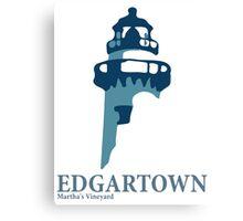 Edgartown - Martha's Vineyards. Canvas Print