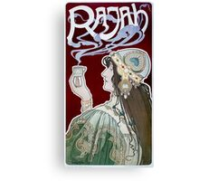 Rajah by Henri Privat-Livemont (Reproduction) Canvas Print