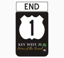 Key West Highway 1 by BailoutIsland