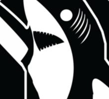 Left Shark Real MVP - Super Bowl Halftime Shark 2015 Sticker