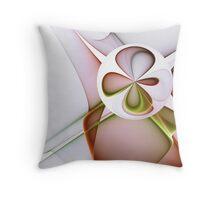 Four-leaf Clover Throw Pillow