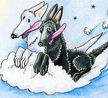 Cloud Riders by offleashart