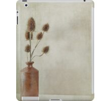 Stone jar of teasles iPad Case/Skin