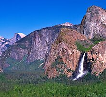 Yosemite Valley at Tunnel View by Randy Jay Braun