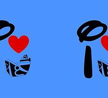 I Heart Astro Blasters by ShopGirl91706
