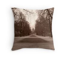 Parc de Bruxelles Throw Pillow