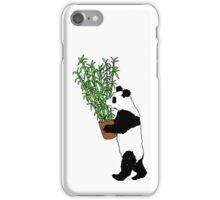 Panda Bamboo Takeaway iPhone Case/Skin