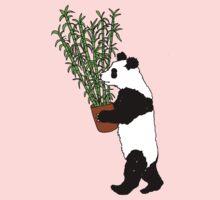 Panda Bamboo Takeaway Kids Tee