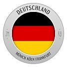 germany sticker by mostly10