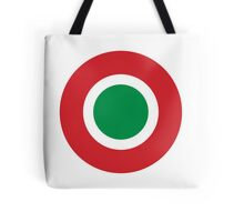Roundel of the Italian Air Force  Tote Bag