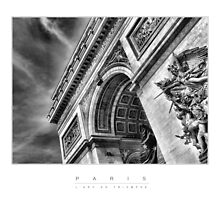 PARIS - L'Arc De Triomphe by Marcel Apperloo