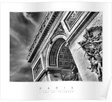 PARIS - L'Arc De Triomphe Poster