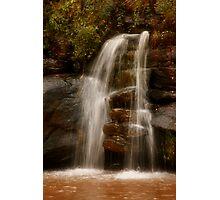Ten Mile Creek Waterfall Photographic Print