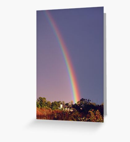 Catch Your Rainbow! Greeting Card