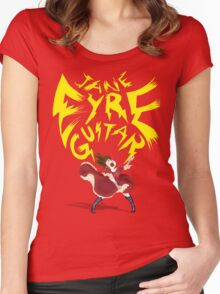 Jane Eyre Guitar Women's Fitted Scoop T-Shirt
