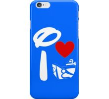 I Heart Astro Blasters (Inverted) iPhone Case/Skin