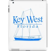 Blue Key West Sailing iPad Case/Skin