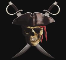 Pirate Skull by BailoutIsland