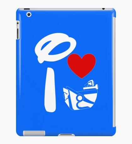 I Heart Astro Blasters (Inverted) iPad Case/Skin