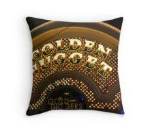 Golden Nugget Throw Pillow