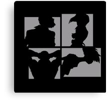 Cowboy Bebop Silhouettes. Canvas Print