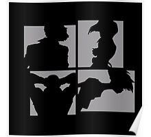 Cowboy Bebop Silhouettes. Poster