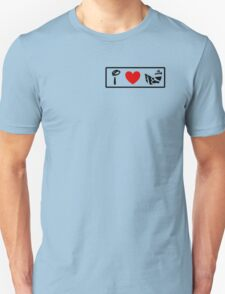 I Heart Astro Blasters (Classic Logo) T-Shirt
