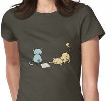 Cat's Game Womens Fitted T-Shirt