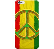 Rasta Peace iPhone Case/Skin