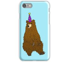 Party Bear iPhone Case/Skin