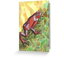 228 - POISON FROG - DAVE EDWARDS - WATERCOLOUR - 2008 Greeting Card