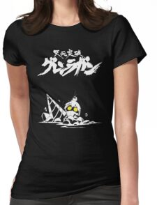 Tengen Toppa 02 Womens Fitted T-Shirt
