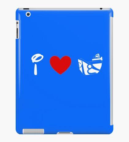 I Heart Astro Blasters (Classic Logo) (Inverted) iPad Case/Skin