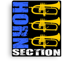 HORN SECTION-2 Canvas Print