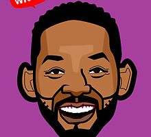caricature of will smith by boabie109