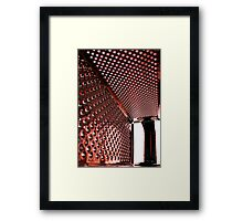 You Look Grate in Red Framed Print