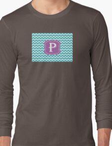 Chevron P Long Sleeve T-Shirt