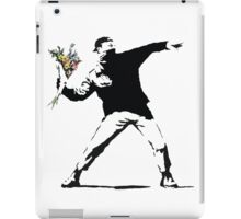 Flower man - Street art iPad Case/Skin